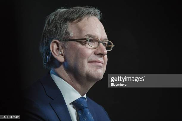 Steven Maijoor chairman of the European Securities and Markets Authority pauses during a Bloomberg Television interview in Paris France on Thursday...