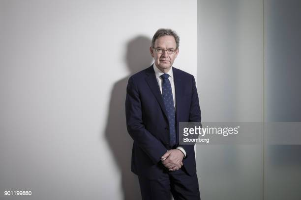 Steven Maijoor chairman of the European Securities and Markets Authority poses for a photograph ahead of a Bloomberg Television interview in Paris...