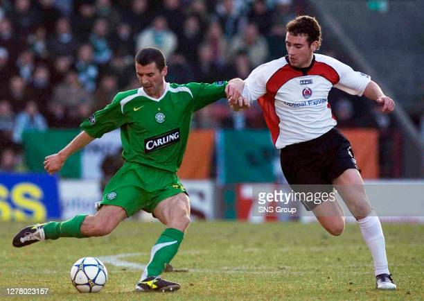 Steven Masterson closes in on Celtic's new boy Roy Keane