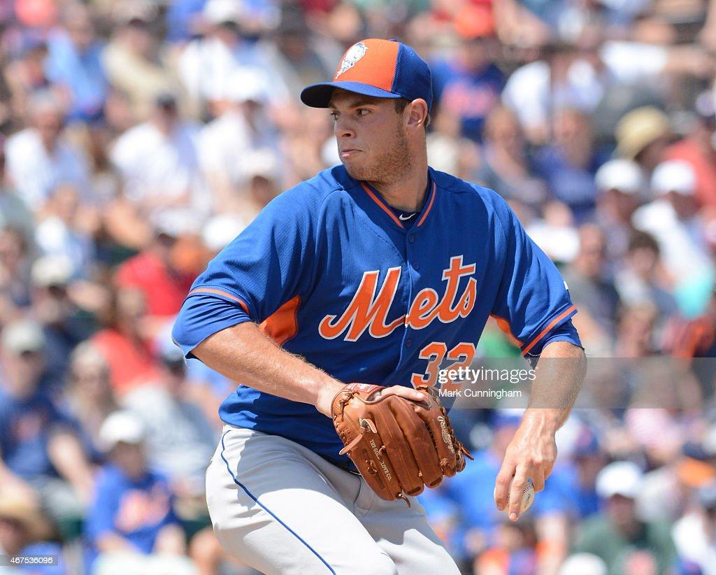 New York Mets v Detroit Tigers : News Photo