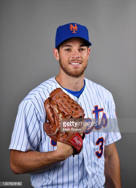 Steven Matz of the New York Mets poses for a photo during Photo Day at Clover Park on February 20, 2020 in Port St. Lucie, Florida.