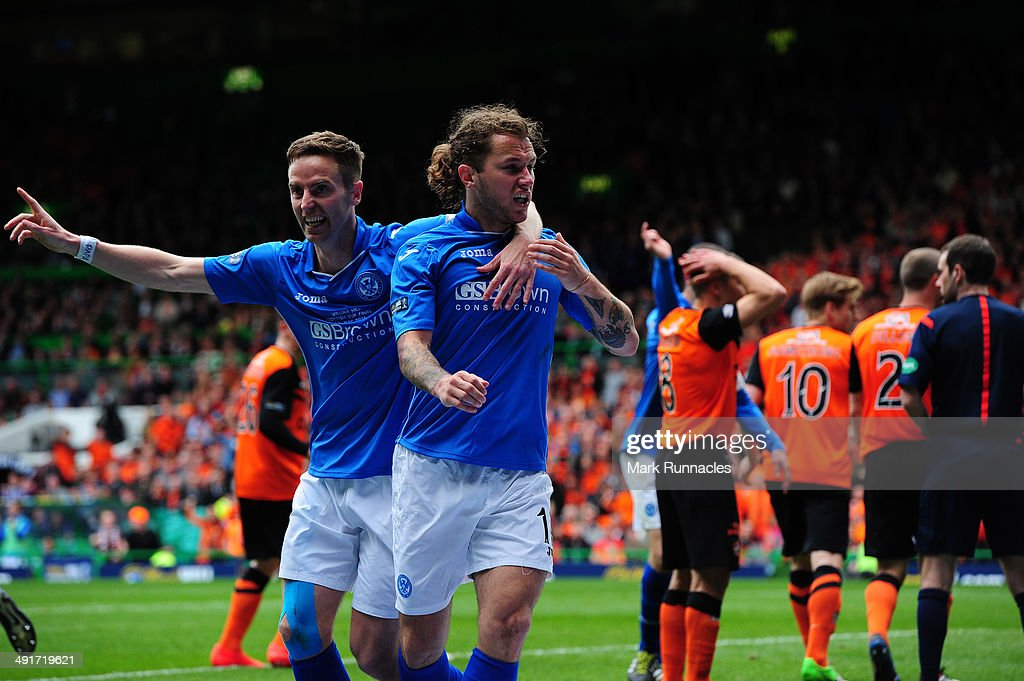 St Johnstone v Dundee United - The William Hill Scottish Cup Final : News Photo