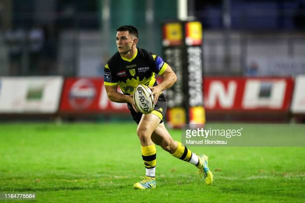 Steven Mc Mahon of Carcassonne during the Pro D2 match between Carcassonne and Grenoble on August 29 2019 in Carcassonne France