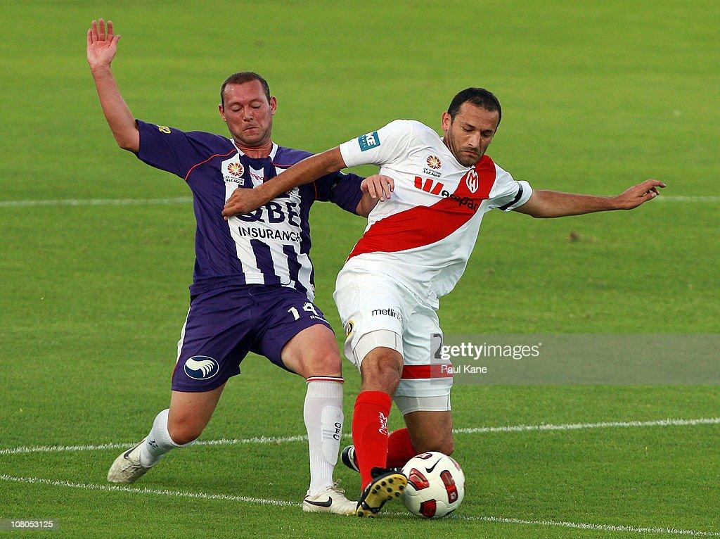 A-League Rd 23 - Glory v Heart
