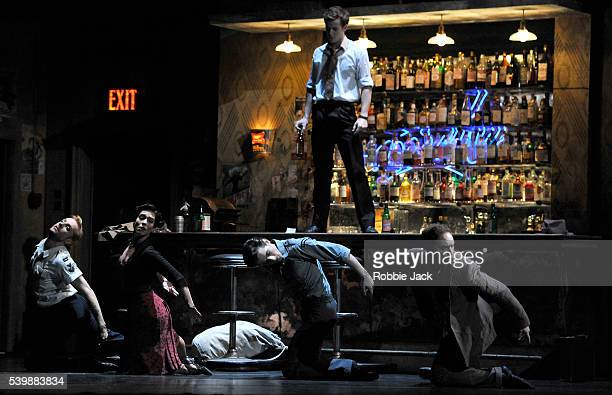 Steven McRae as Emble Laura Morera as Rosetta Tristan Dyer as MalinKevin Emerton as Bartender and Bennet Gartside as Quant in the Royal Ballet's...