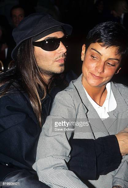 Steven Meisel and Ingrid Casares at 7th on 6th collections New York April 1 1995