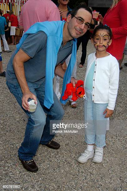 Steven Mnuchin and Dylan Mnuchin attend Southampton Fresh Air Home's 21st Annual American Picnic With Grucci Fireworks at Private Residence on July 4...