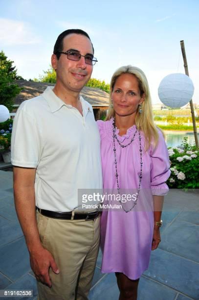 Steven Mnuchin and Heather Mnuchin attend Summer Reception in Southampton for New YorkPresbyterian Hospital hosted by Heather and Steven Mnuchin and...