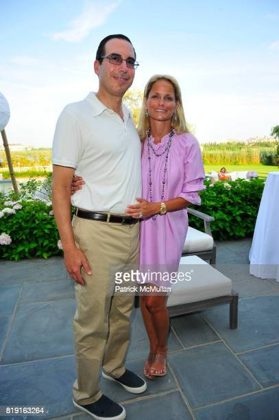 Steven Mnuchin and Heather Mnuchin attend Summer Reception in Southampton for New YorkPresbyterian Hospital hosted by Heather and Steven Mnuchin and...