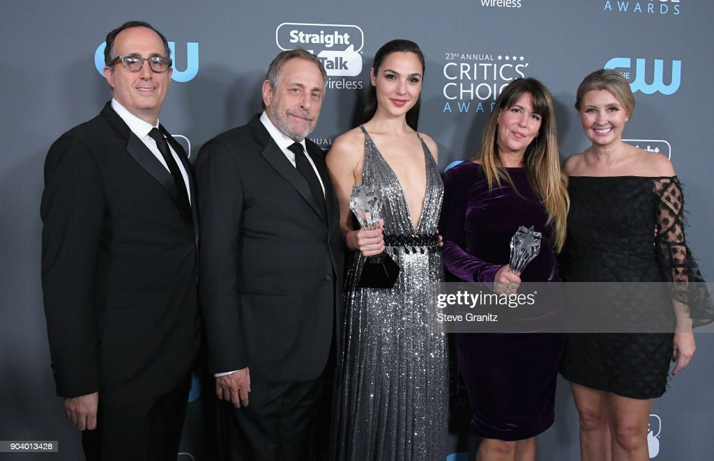 The 23rd Annual Critics' Choice Awards - Press Room