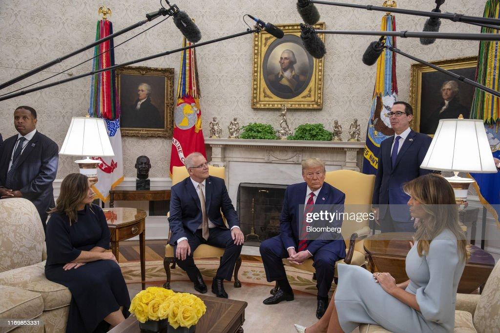 President Trump Hosts State Visit For Australia's Prime Minister Scott Morrison : News Photo