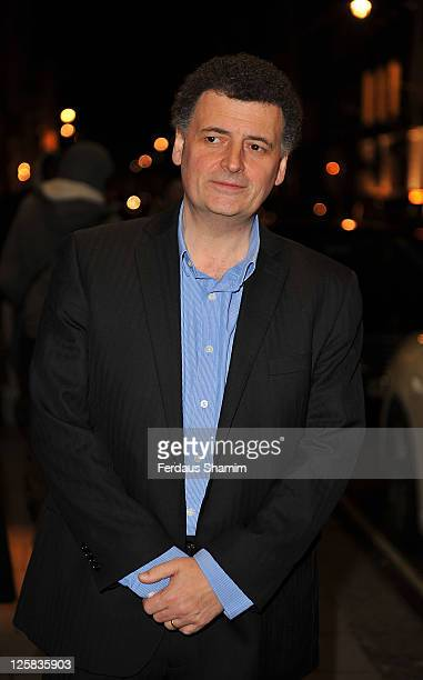 Steven Moffat attends the Radio Times Covers Party at Claridge's Hotel on January 18 2011 in London England