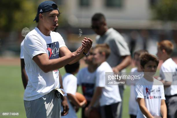 Steven Montes of Colorado State University attends Steve Clarkson's 13th Annual Quarterback Retreat on May 27 2017 in Coronado California