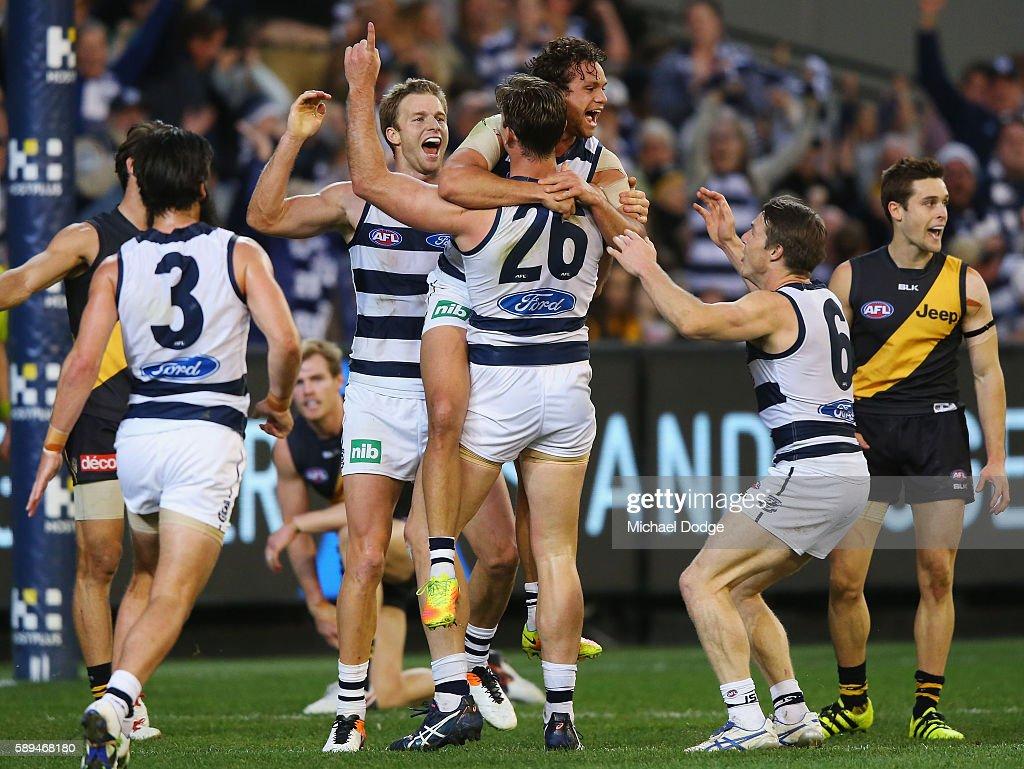 AFL Rd 21 - Richmond v Geelong : News Photo