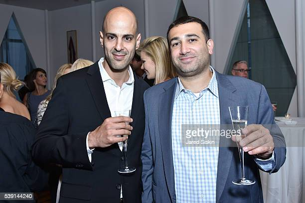 Steven Nadar and Oshri Reuven attend AVENUE Celebrates the New Edition of AVENUE CONCIERGE at Le Cirque on June 8 2016 in New York City