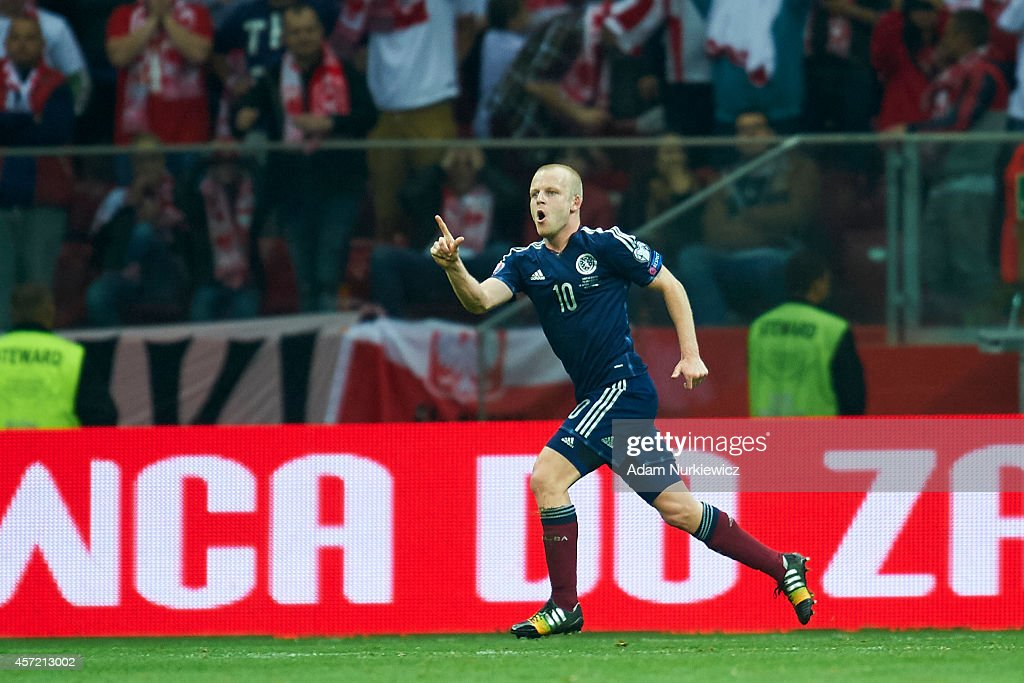 Poland v Scotland - EURO 2016 Qualifier : News Photo