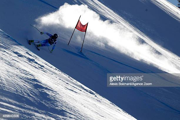Steven Nyman of the USA competes during the Audi FIS Alpine Ski World Cup Men's Downhill Training on December 02 2014 in Beaver Creek Colorado