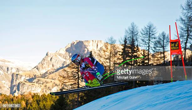 Steven Nyman of The USA during the downhill race at the Audi FIS Alpine Ski World Cup on December 19 2015 in Val Gardena Italy