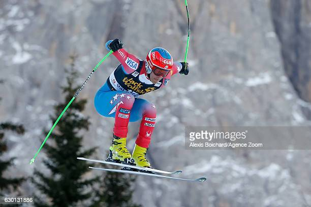 Steven Nyman of USA competes during the Audi FIS Alpine Ski World Cup Men's Downhill on December 17, 2016 in Val Gardena, Italy