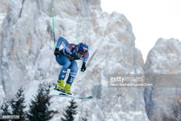 Steven Nyman of USA competes during the Audi FIS Alpine Ski World Cup Men's Downhill on December 16 2017 in Val Gardena Italy
