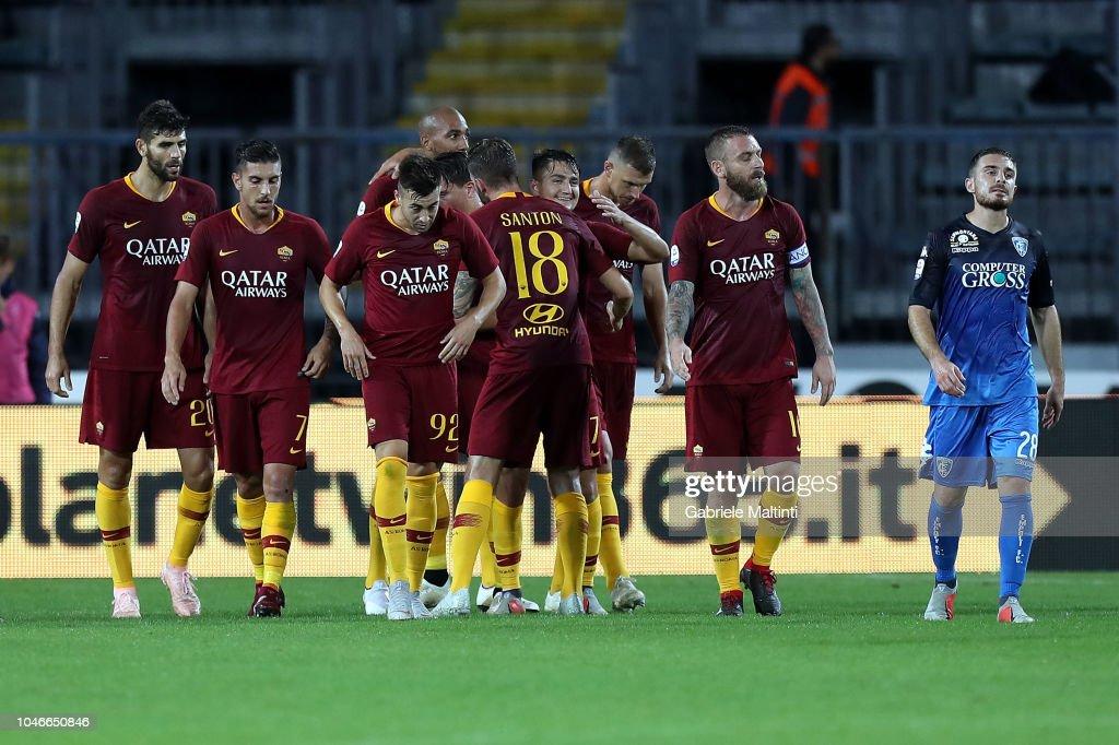 Empoli v AS Roma - Serie A : News Photo