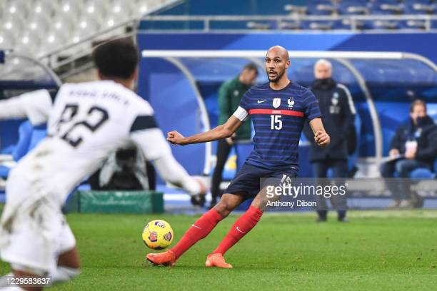 Steven NZONZI of France during the international friendly match between France and Finland at Stade de France on November 11, 2020 in Paris, France.