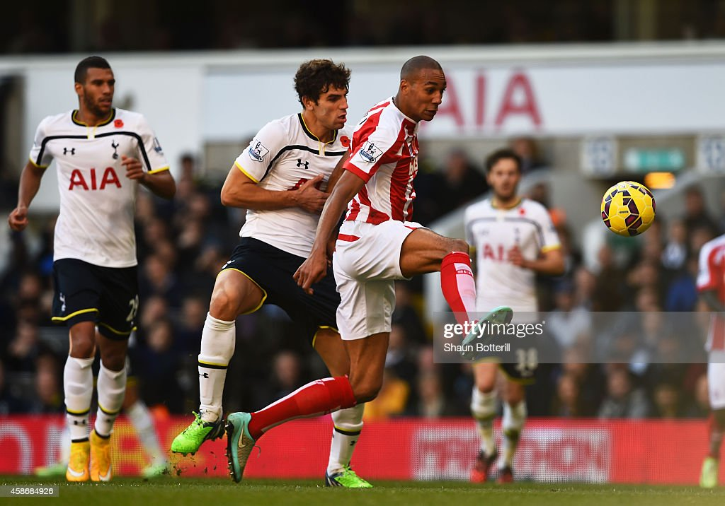 Tottenham Hotspur v Stoke City - Premier League : News Photo