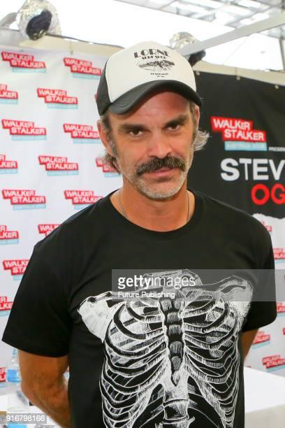 MELBOURNE AUSTRALIA FEBRUARY Steven Ogg at Walker Stalker Con Melbourne 2018PHOTOGRAPH BY Chris Putnam / Barcroft Images 44 207 033 1031...