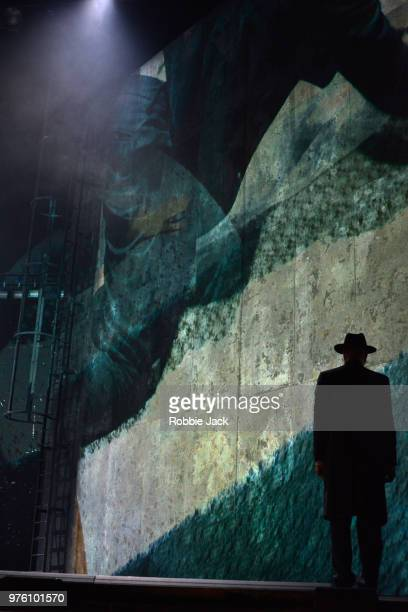 Steven Page as Stranger in the Royal Opera's production of Na'ama Zisser's Mamzer Bastard directed by Jay Scheib and conducted by Jessica Cottis at...