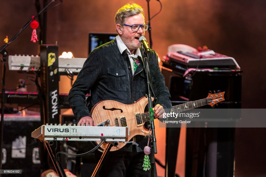 Steven Page of the band Barenaked Ladies performs at The Greek Theatre on June 15, 2018 in Los Angeles, California.