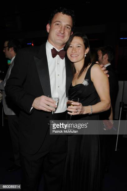 Steven Paletta and Christine Paletta attend THE HUFFINGTON POST PreInaugural Ball at The Newseum on January 19 2009 in Washington DC