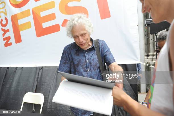 Steven Pinker attends OZY Fest 2018 at Rumsey Playfield Central Park on July 21 2018 in New York City