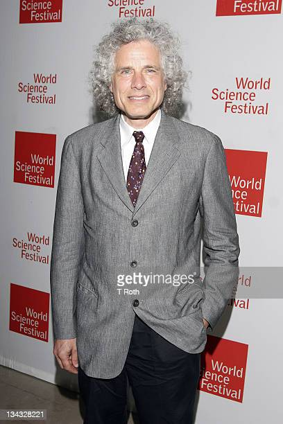 Steven Pinker attends the 2011 World Science Festival opening night gala at Alice Tully Hall on June 1 2011 in New York City