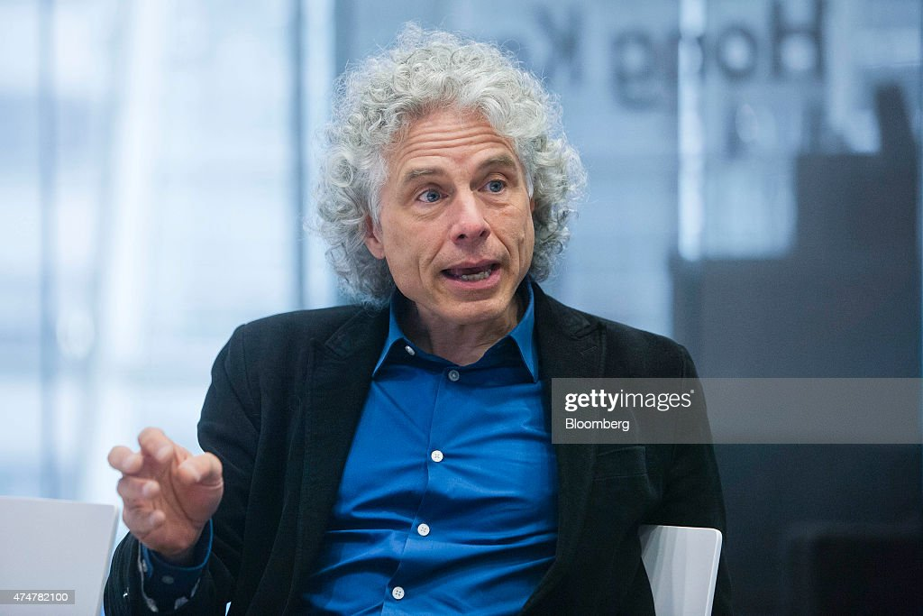 Author And Professor Steven Pinker Interview : News Photo