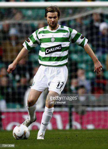 Steven Pressley of Celtic in action during the Scottish Premier League match between Celtic and Kilmarnock at Celtic Park January 2 2007 in Glasgow...