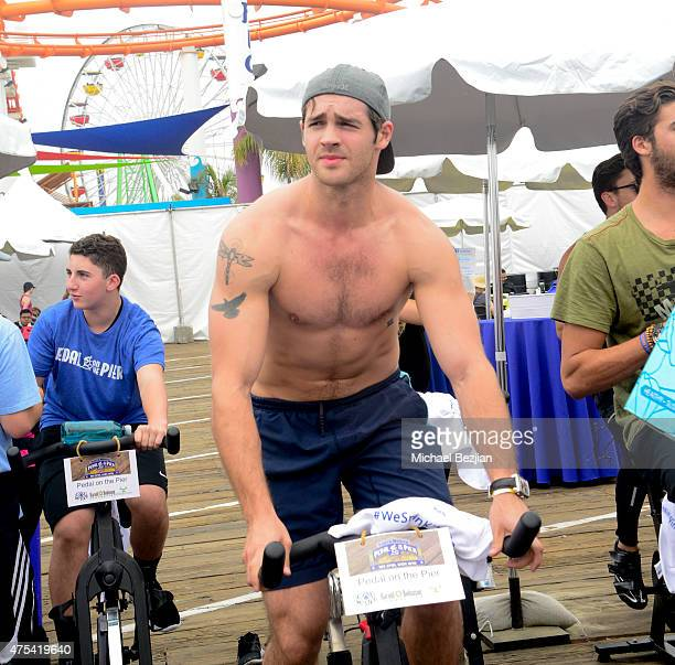 Steven R McQueen attends Harold Robinson Foundation's 5th Annual Pedal On The Pier Fundraiser at Santa Monica Pier on May 31 2015 in Santa Monica...