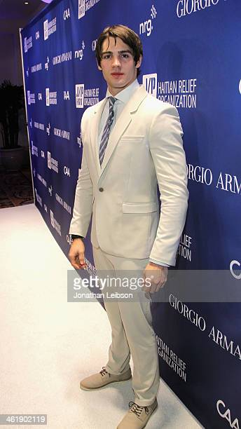 Steven R McQueen attends the 3rd annual Sean Penn Friends HELP HAITI HOME Gala benefiting J/P HRO presented by Giorgio Armani at Montage Beverly...