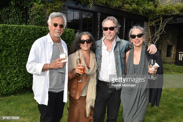 Steven Reiner Stephanie Reiner Gland Bard and Dierdre Guest attend The 18th Annual Midsummer Night Drinks Benefiting God's Love We Deliver at Private...