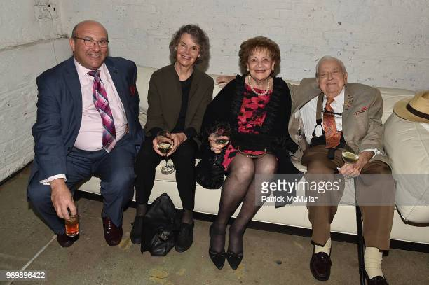 Steven Richman, Florence Frucher, Matilda Cuomo and Joseph Mattone attend the HELP USA Heroes Awards Gala at the Garage on June 4, 2018 in New York...