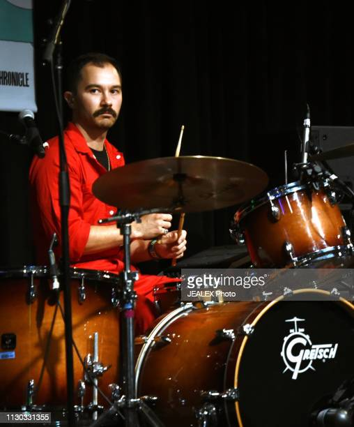 Steven Ruiz de Luzuriaga of Mojo Juju performs onstage at SXSW presents the International Day Stage during the 2019 SXSW Conference and Festivals at...
