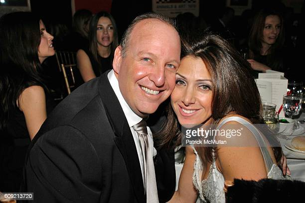 Steven Schonfeld and Jodi Geller attend LIVING BEYOND BELIEF Benefit in Honor of KENNETH COLE at National Arts Club on February 9 2007 in New York...
