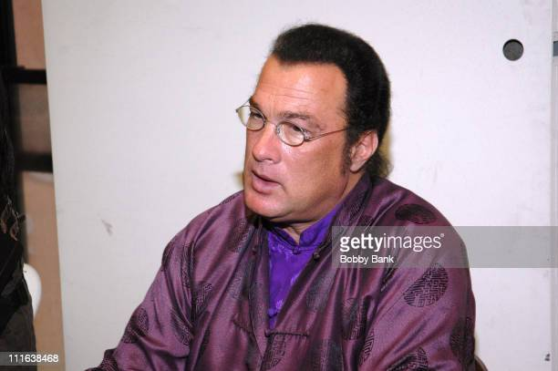 Steven Seagal during Big Apple Convention Super Show June 24 2006 in New York City New York United States