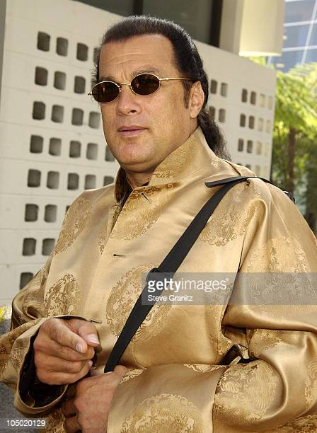 Steven Seagal during The Wild Thornberrys Movie Premiere at Cinerama Dome in Hollywood California United States