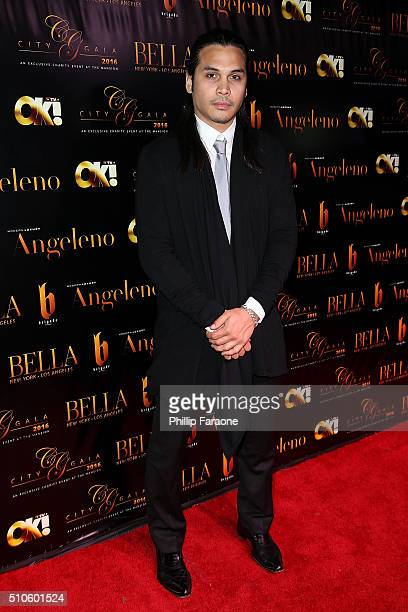 Steven Skyler attends the City Gala Fundraiser 2016 at The Playboy Mansion on February 15 2016 in Los Angeles California