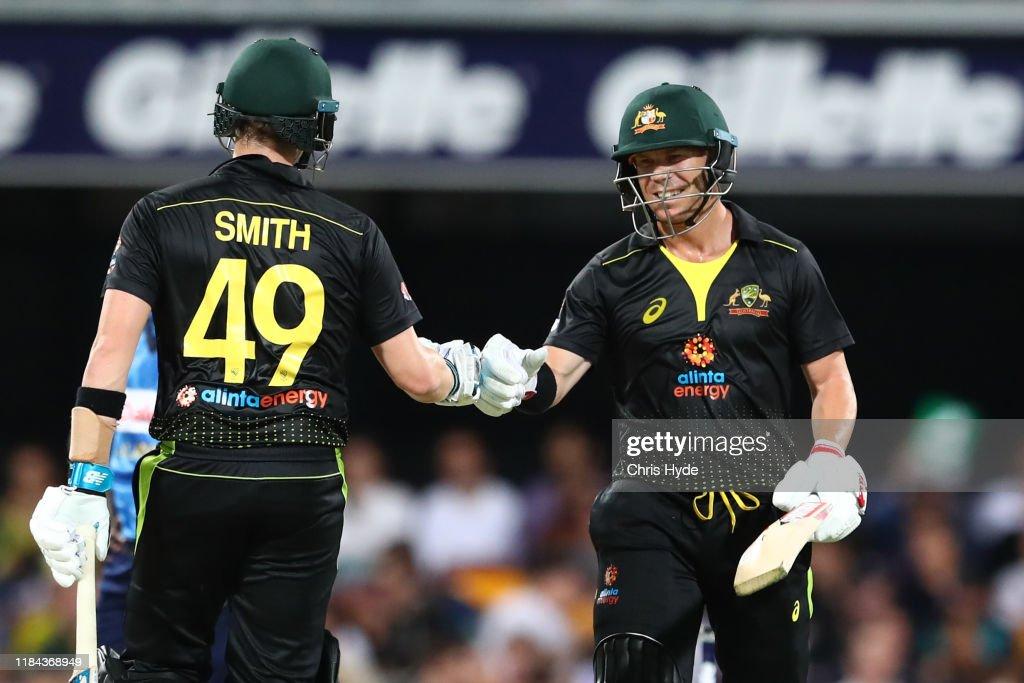 Australia v Sri Lanka - Men's T20 Game 2 : News Photo