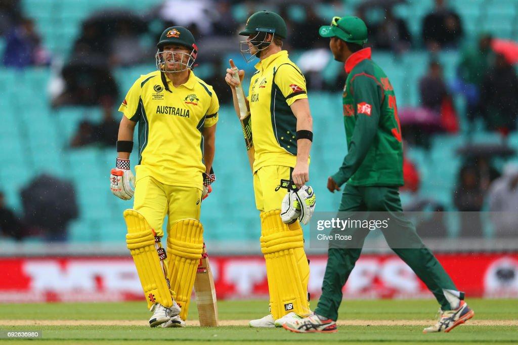 Australia v Bangladesh - ICC Champions Trophy : News Photo