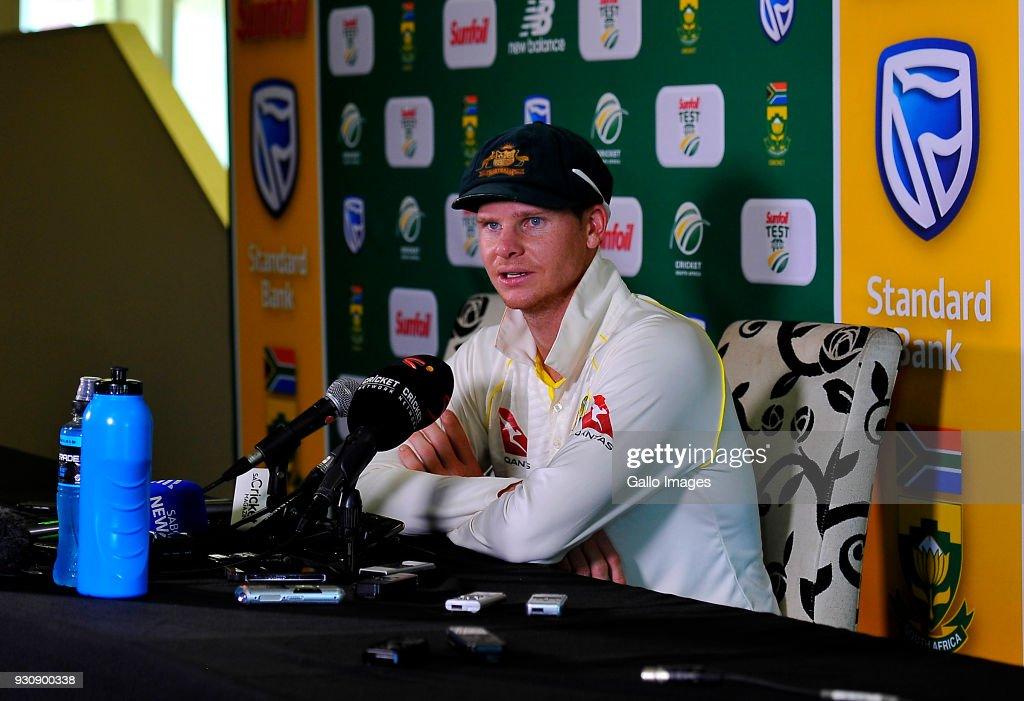 South Africa v Australia - 2nd Test: Day 4 : News Photo