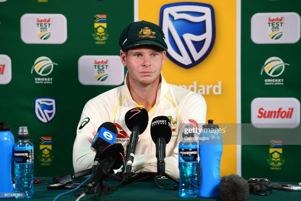 South Africa v Australia - 1st Test: Day 5 : News Photo