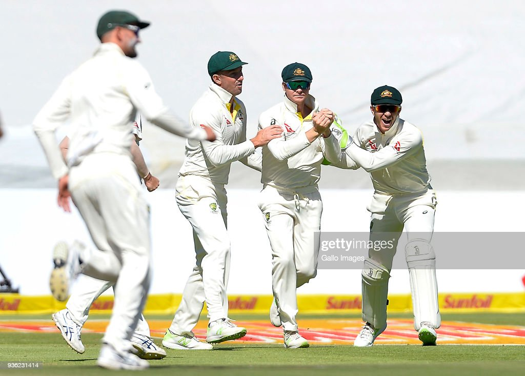 South Africa v Australia - 3rd Test: Day 1