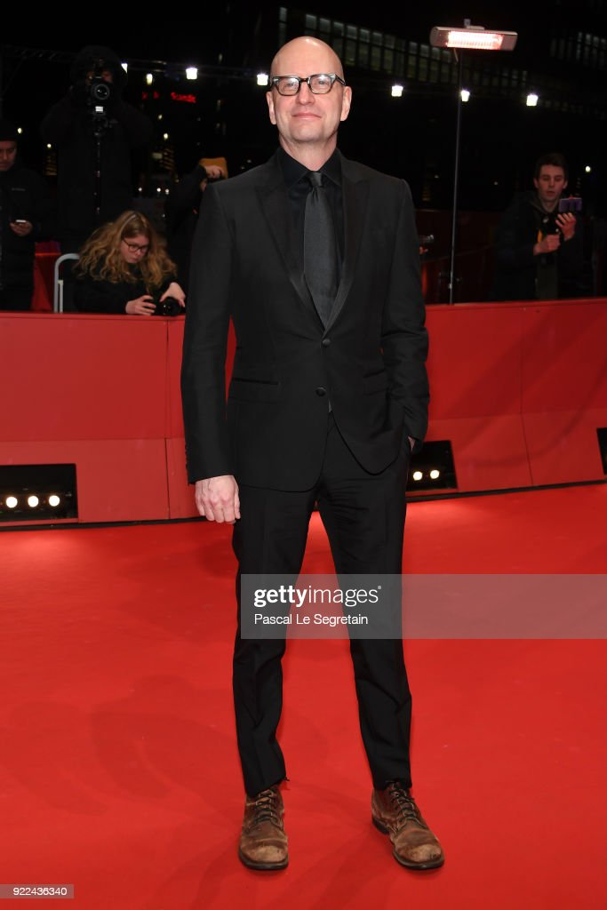 Steven Soderbergh attends the 'Unsane' premiere during the 68th Berlinale International Film Festival Berlin at Berlinale Palast on February 21, 2018 in Berlin, Germany.
